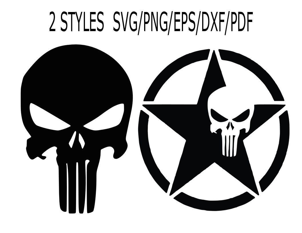 Jeep Skull Svg Punisher Svg Jeep Skull Png Punisher Etsy Punisher Skull Punisher Skull Decal Skull Decal