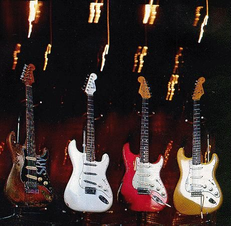 Stevie Ray Vaughans Guitars Number One Charley Red Butterscotch