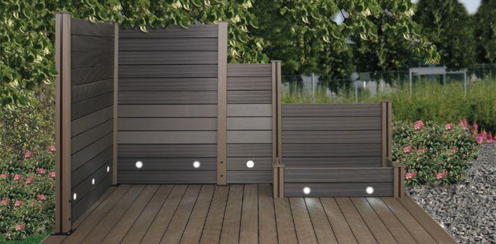 garden patio wpc fence inexpensive wpc gate sliding