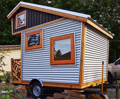 Micro Homes On Wheels Plans Gnomadik It S A Very Cute And