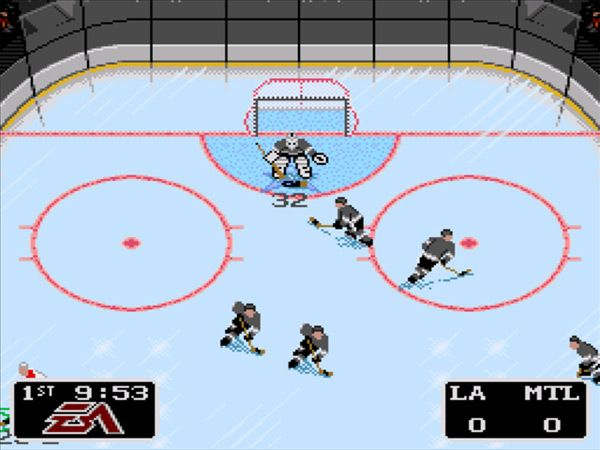 Nhl 94 Was Developed In A Barn By A Man Who Had Never Seen A Hockey Game Hockey Games Hockey Nhl