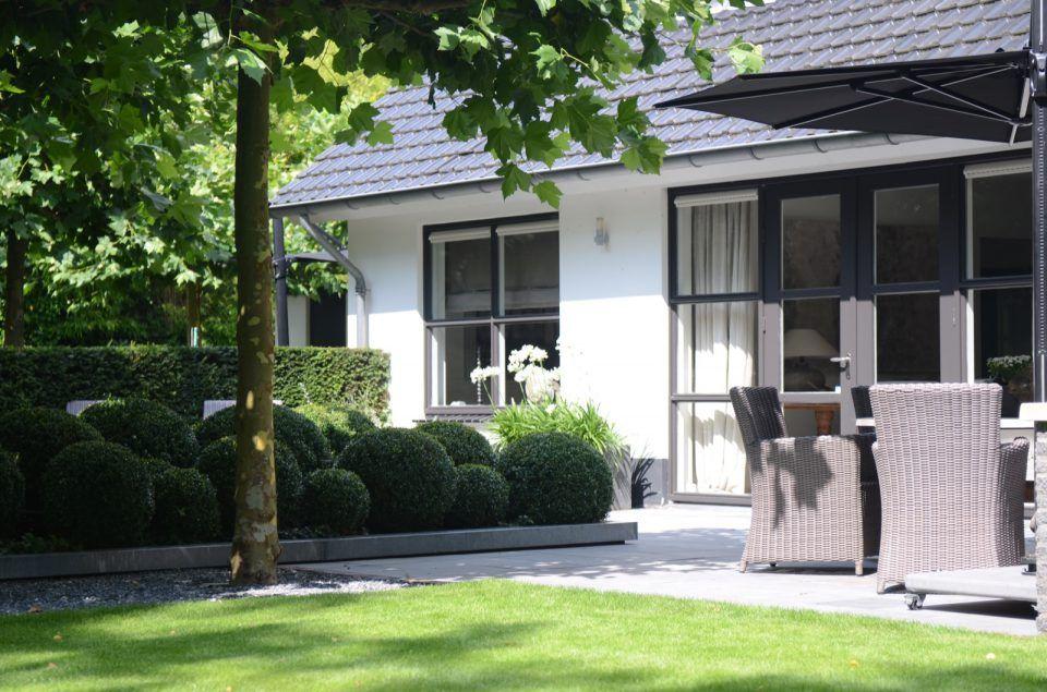 Moderne tuin ontwerpen met terras tuin moderne