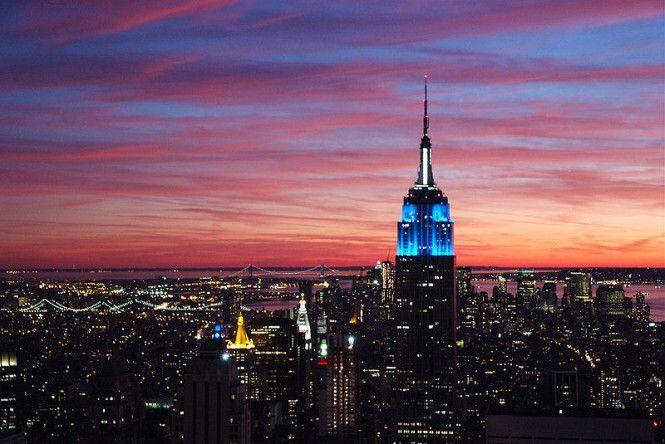New York, beautiful skyline