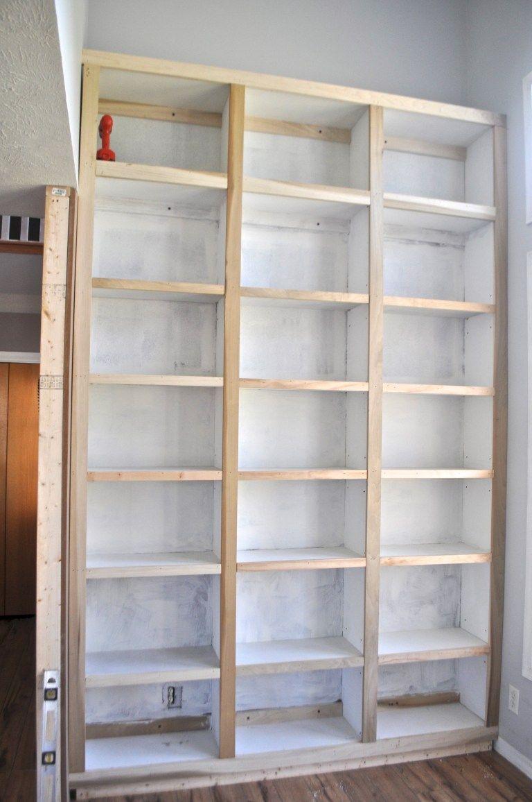 DIY Built in Bookshelves images