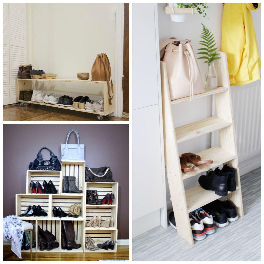 Diy Organizar Zapatos En Entradas Entryway Pinterest  # Muebles Sostenibles