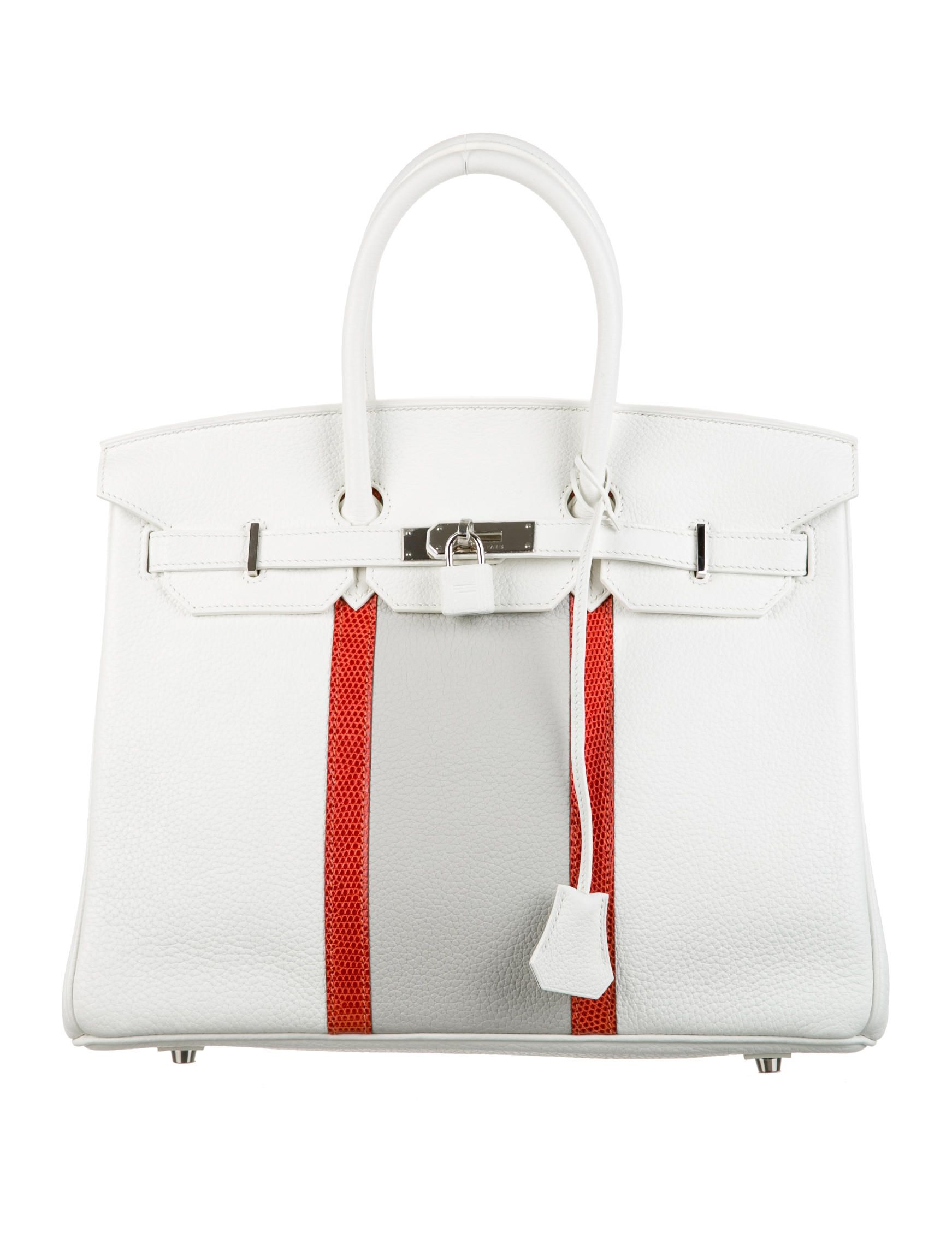 5c6cc2d47d72 White Clemence leather Hermès Club Birkin 35 with palladium hardware