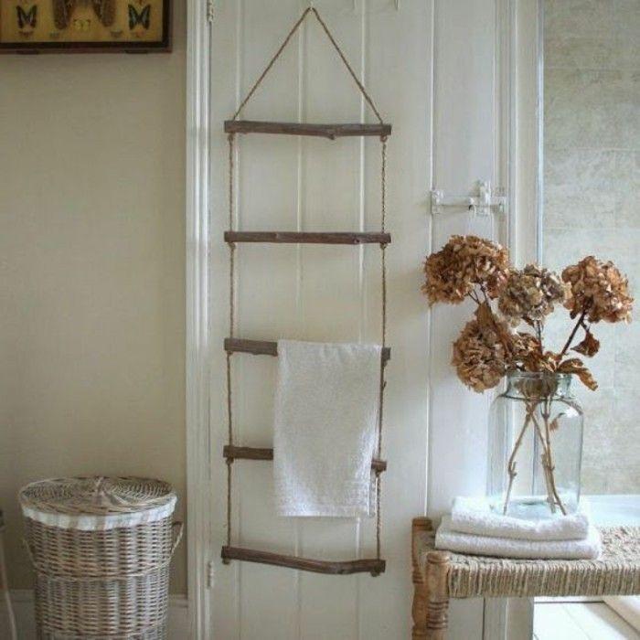 Le porte serviette en 40 photos d 39 id es pour votre salle - Porte serviette salle de bain ikea ...