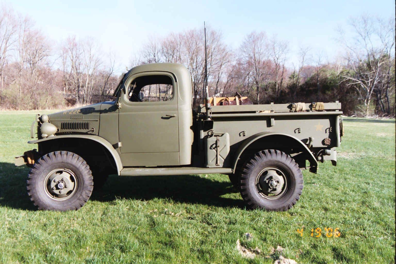 Dodge trucks in wwii - Wc Series 1 2 Ton Pick Up Either A 12 Or A 41