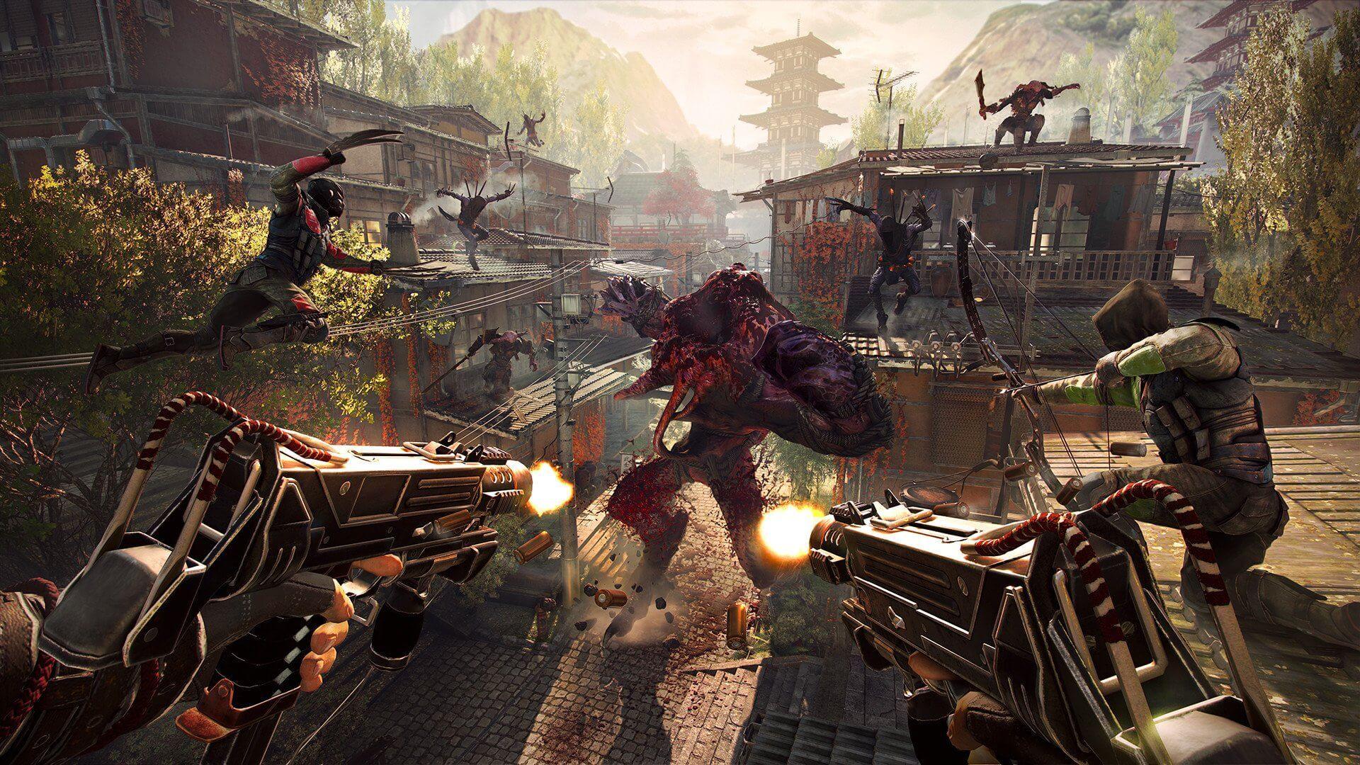 Shadow Warrior 2 PC. A raíz de los acontecimientos del primer juego, reinos humanos y demonios se han fusionado en un solo mundo. Los humanos y demonios.