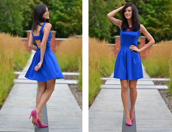Navy Blue Dress Heels