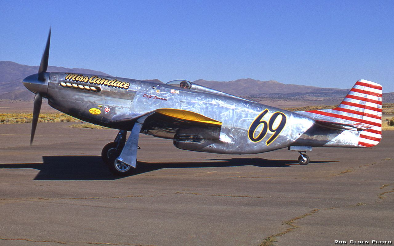 Miss Candice P51 Reno air races, Fighter jets, Airplane