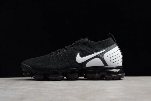 a91c332cd60c7 Real Nike Air VaporMax Flyknit 2018 2.0 Black White Mens and Womens Size  842842-010 For Sale - ishoesdesign