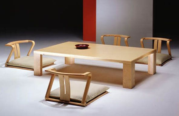 Superieur Japanese Dining Table And Chairs Ikea