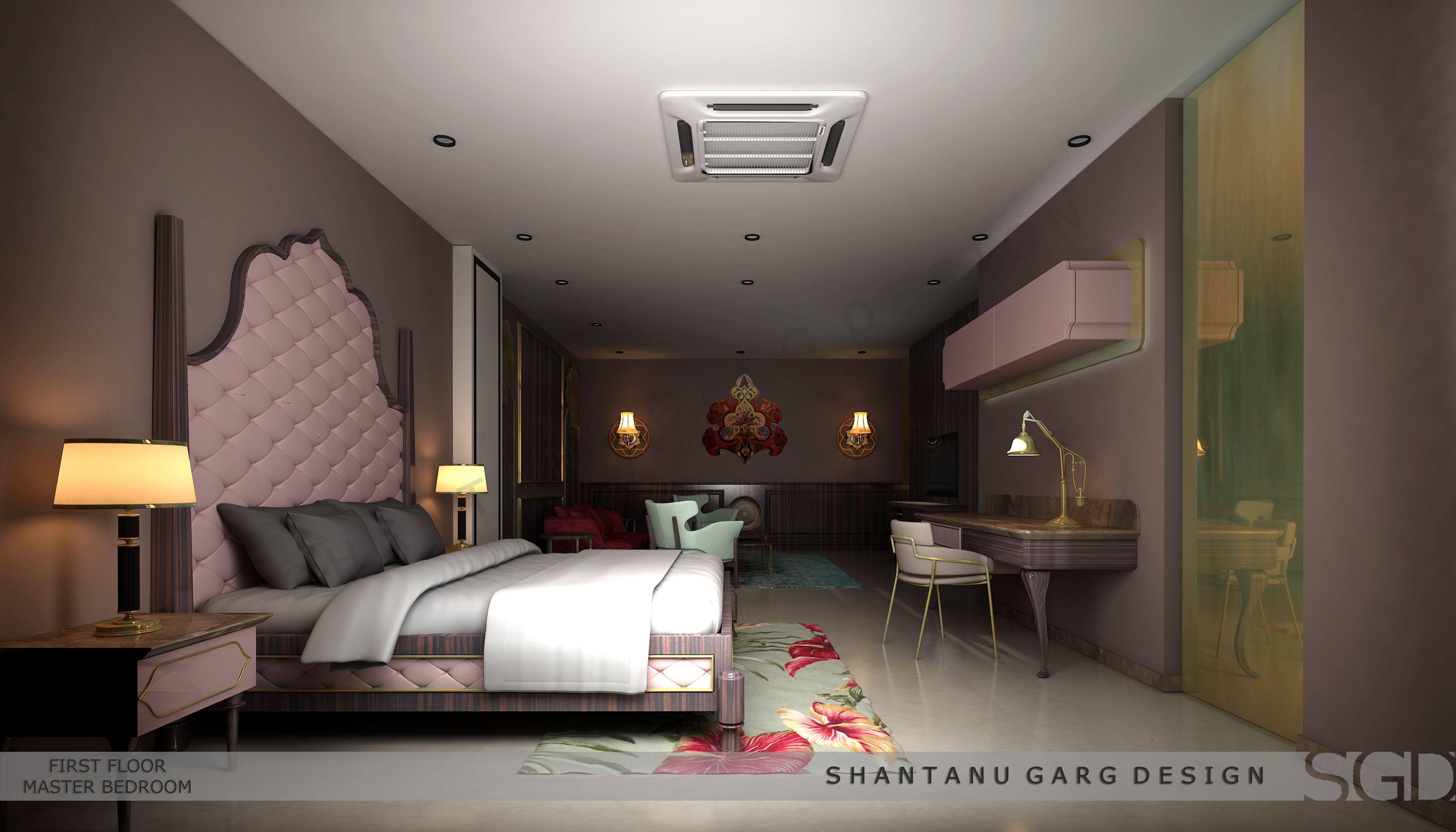 Art Deco styled bedroom by shantanu garg design ...