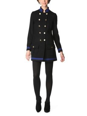 SEE BY CHLOE Piped Military Coat