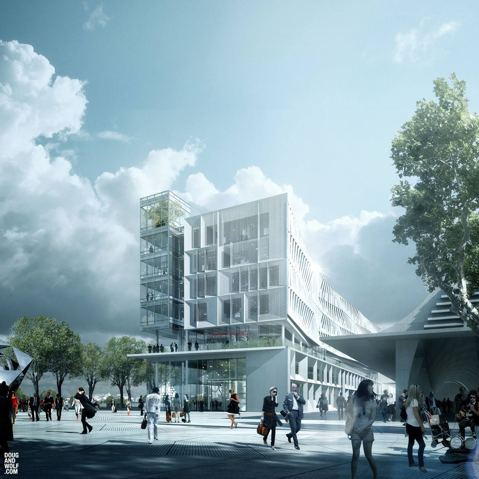 Gallery of Aedas Designed Project in Shanghai Deemed World s Best Mixed Use Project 2