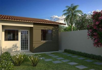 Fotos de fachadas de casas simples pequenas e baratas for Casas de madera pequenas y baratas