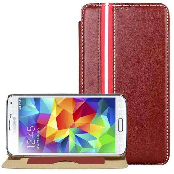 39b348756bf Fundas de piel marron con diseño original para moviles Samsung Galaxy S5.  Compra online al mejor precio en Yougamebay.