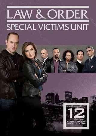 All 24 episodes that comprise the 12th season of LAW & ORDER: SPECIAL VICTIMS UNIT, starring Mariska Hargitay and Christopher Meloni as detectives who investigate unusual sex crimes are collected in t