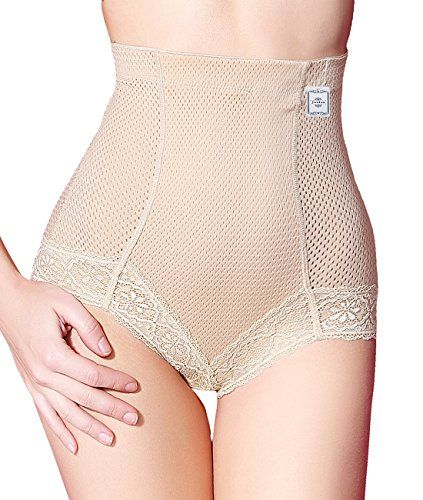 94051b2ddb24b High Waist Brief Shapers for Women Tummy Control Body Shaper Panties with  HiCompression XL Beige HiCompression    Be sure to check out this awesome  product.