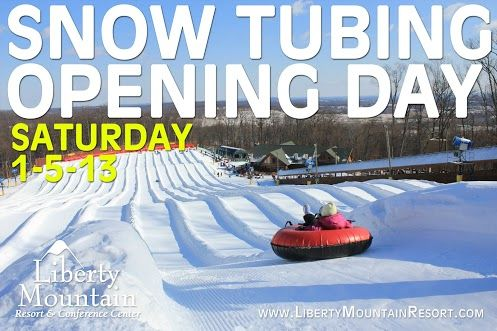 Boulder Ridge Snow Tubing At Liberty Mountain Resort