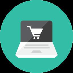Online Shopping Icon Kameleon Iconset Webalys Shop Icon Ecommerce Electronic Shop