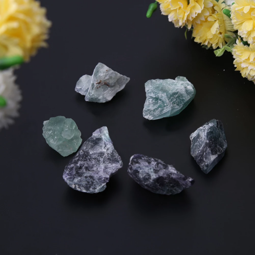 100g Natural Fluorite Crystal Stone Minerals Rock Gemstone Natural Sto Gemstones Energy Gemstones Energy Natural Fluorite Fluorite Stone
