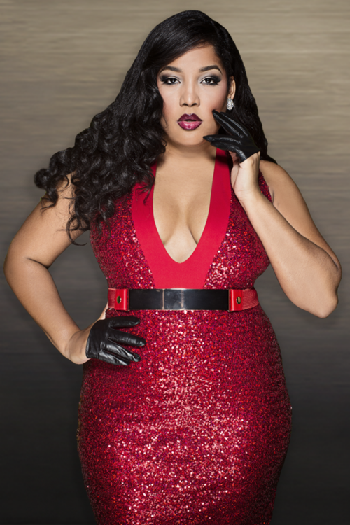 red sequin dress womens plus size fashion unique style inspiration