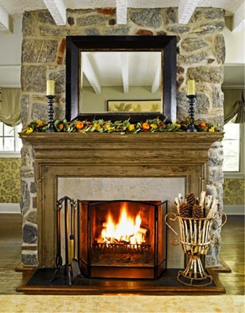ciao! newport beach some cozy ideas for your mantel My Home is My