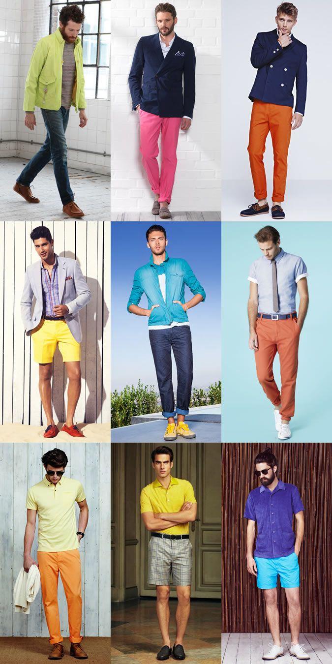 Men's SS13 Fashion Trend: Neon & Fluorescent Colours ...