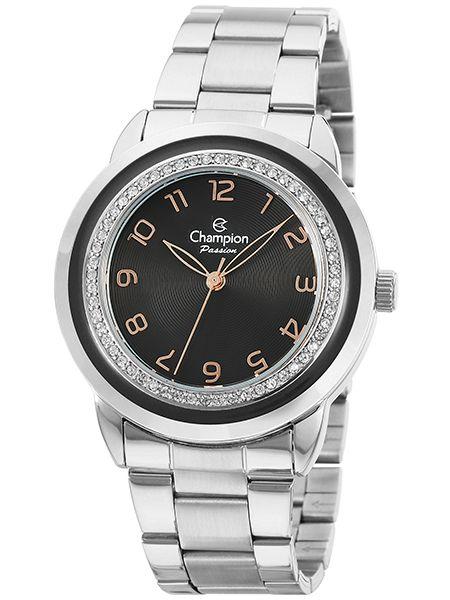 5fa2cfa8436 Relógio Champion Passion Feminino Prata CN29963T