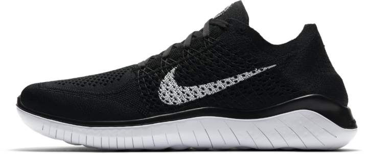 d698954d8fd8 Nike Free RN Flyknit 2018 Men s Running Shoe Size 6 (Black)