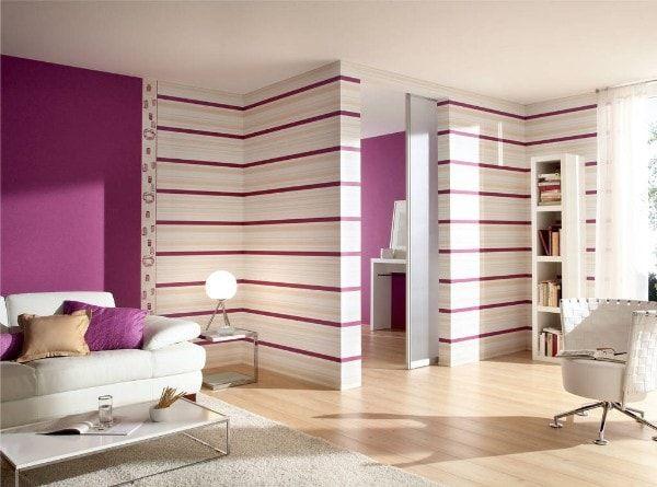 Комбинирование обоев — шаг к созданию стильного интерьера ...