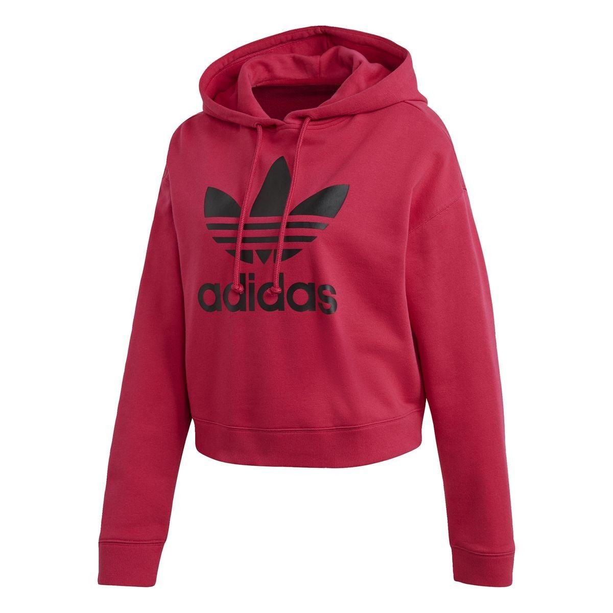 Sweats à capuche Femmes Adidas Veste à capuche molletonnée