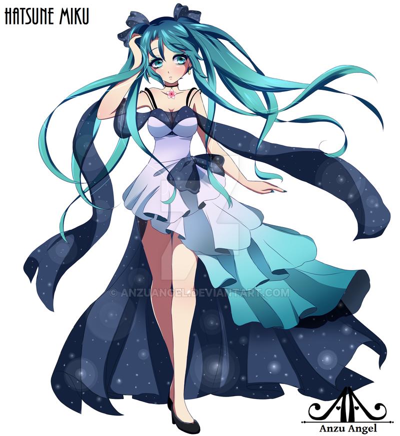 Miku Hatsune Drawing