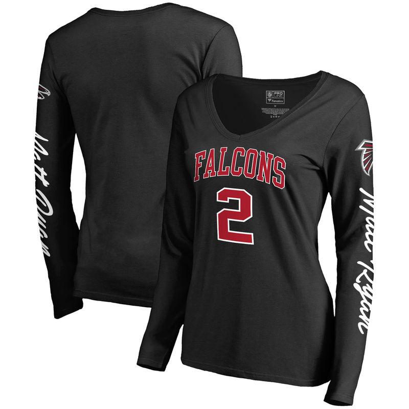 08756b22 Matt Ryan Atlanta Falcons NFL Pro Line by Fanatics Branded Women's ...