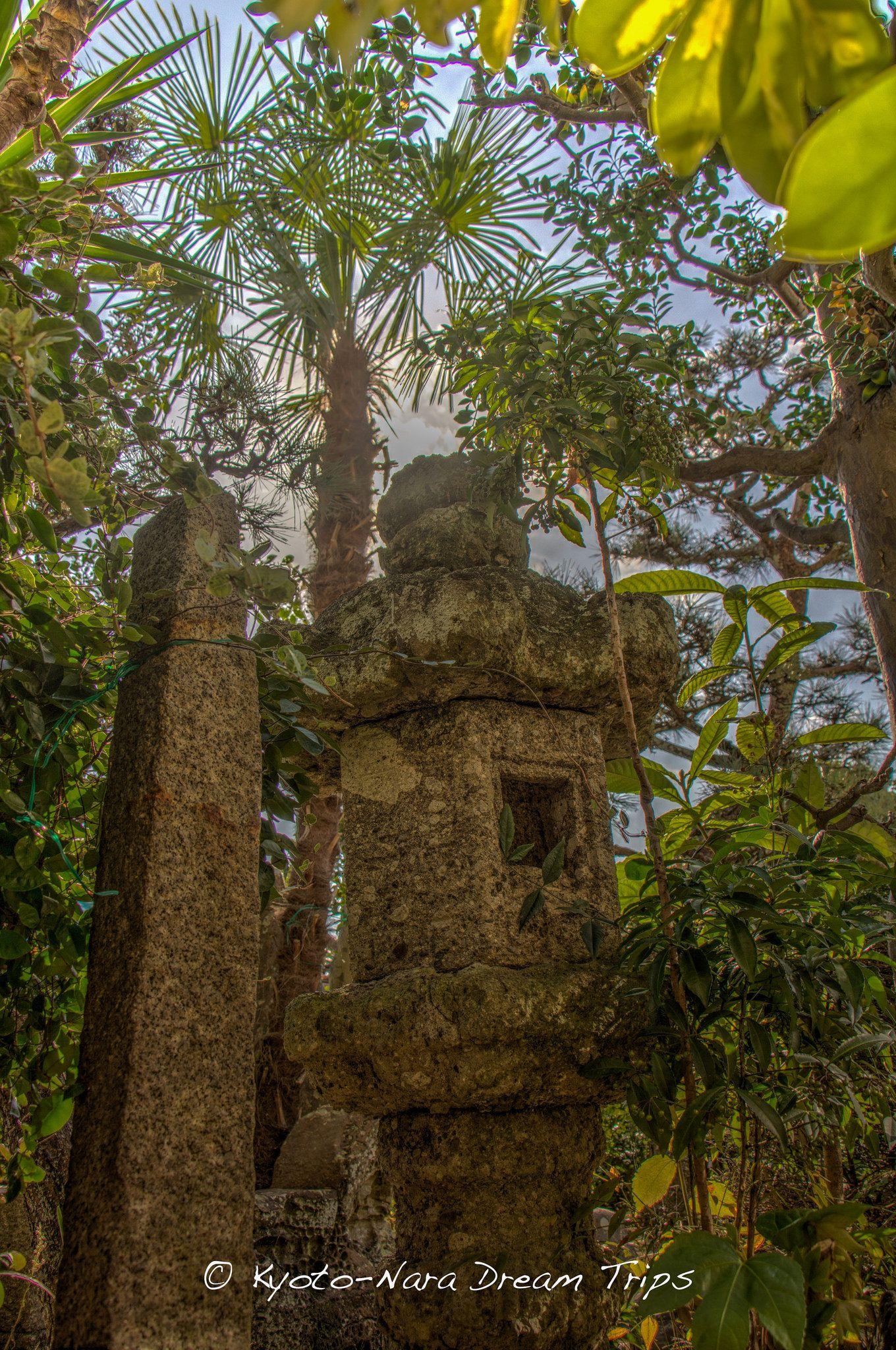 Stone Lantern In My Japanese Garden