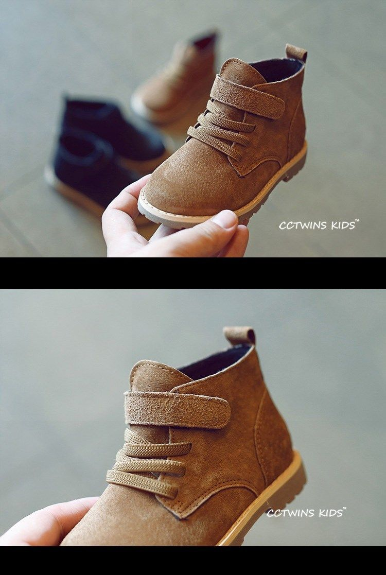 competitive price 75c00 f42b6 CCTWINS KIDS otoño marca niños botines botas de bebé niños zapatos niñas  botas niño botas de