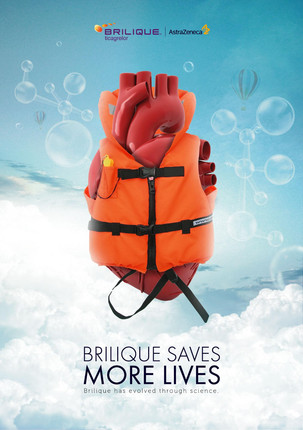 Brilique Print Advert By Brilique Saves More Lives Ads Of The World