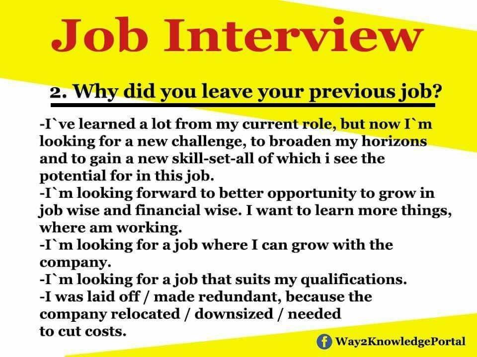 Pin by أحمد الفتيح on Business Job interview tips, Job