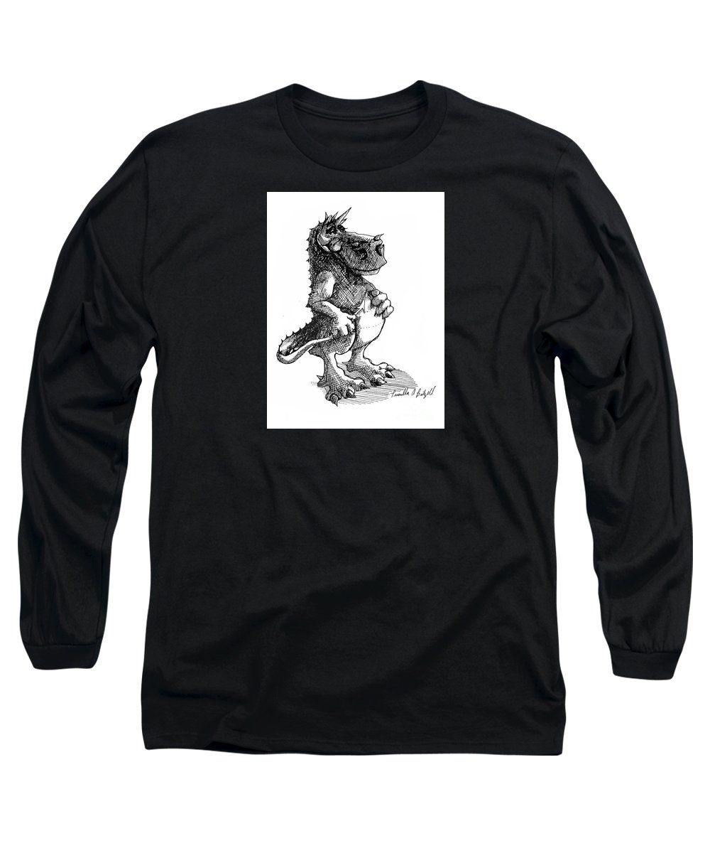 The beast to you long sleeve tshirt for sale by expressionistart