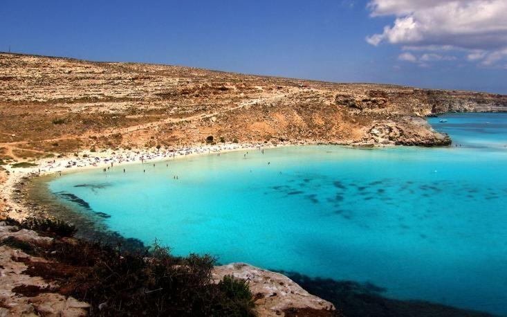 Rabbit beach, Lampedusa