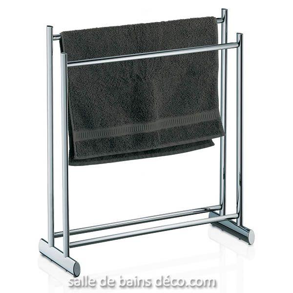 Lunis - porte serviette idees rangement Pinterest Chrome and - porte serviette salle de bain design