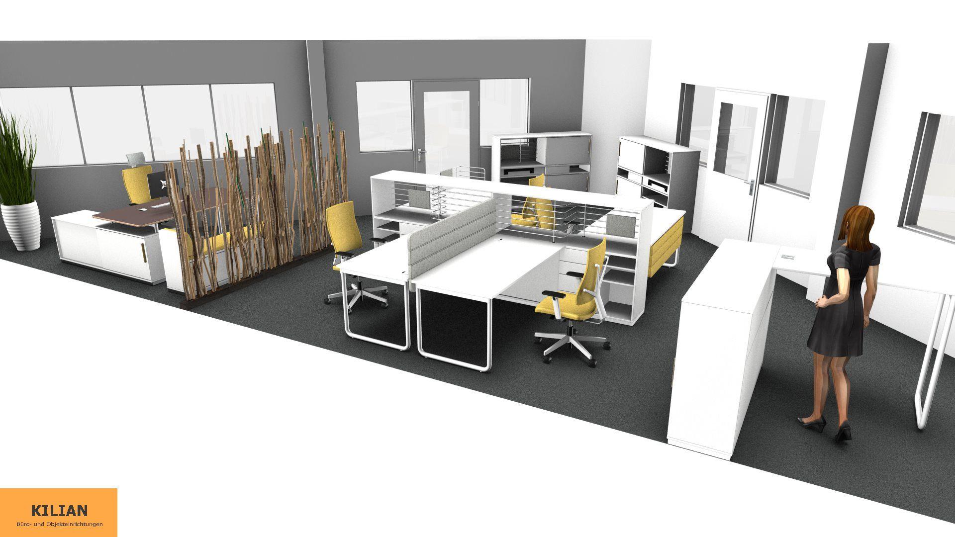 Gruppenbüro Planung Augsburg | Planungen by KILIAN Büro + Objekt ...