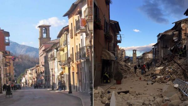 The Amatrice Town In Italy Not Here Any More After Strong