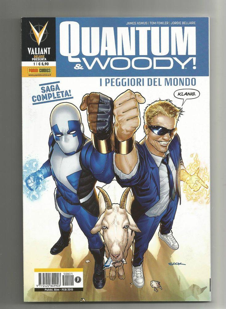 QUANTUM & WOODY N.1 ED. PANINI COMICS