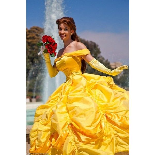 Cosplay.com - Beauty and the Beast - Belle - Disney Princess Belle -... ❤ liked on Polyvore