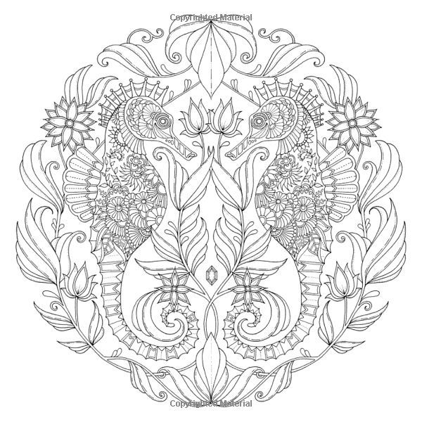 lost ocean colouring book pdf - Google Search | Coloring pages ...