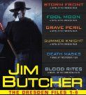 The Dresden Files Books 1 through 6 by Jim Butcher