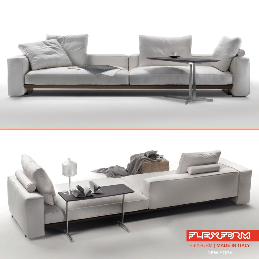 Flexform's Goodplace modern sofa, design by Antonio Citterio, is a splendid example of versatile design, aiming to create the best composition for any interior.  #flexform #flexformny #newyork #modernsofa #AntonioCitterio